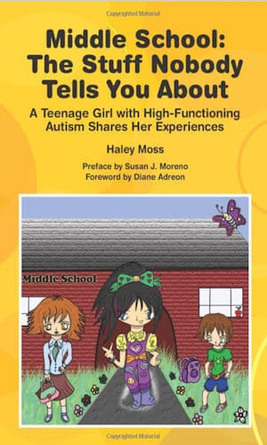 Image of the book cover of Middle School The Stuff Nobody Tells You About