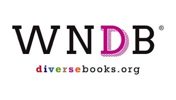 """Image of We Need Diverse Books logo with the text """"diversebooks.org"""" underneath"""