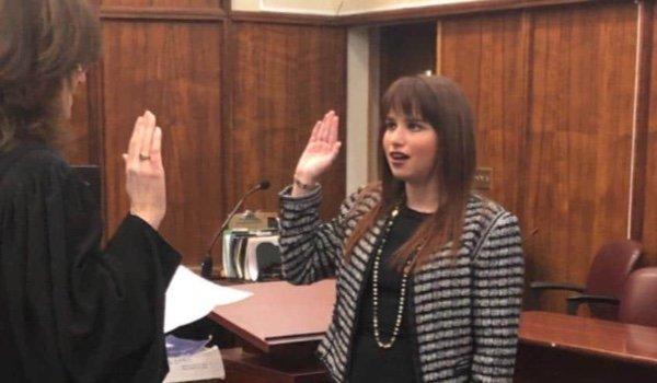 Haley Moss Swearing in Ceremony Jan 11 2019